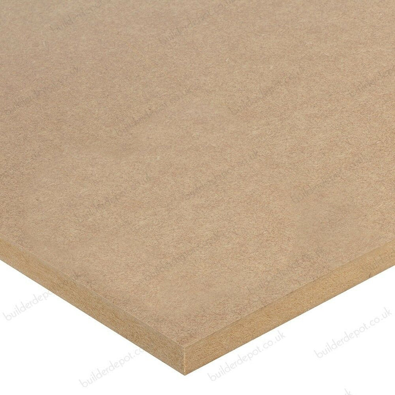 12mm Brown MDF Sheet 2440 x 1220 8FT x 4FT