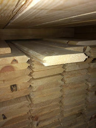 Pine Timber T&G V Groove Cladding 110 X 20mm 2.1MTR X 10 Lengths