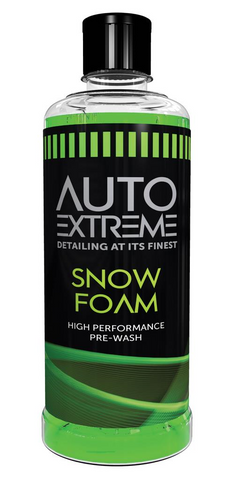 AUTO EXTREME SNOW FOAM 800ML  BOTTLE CAR CLEANING VALET PRE WASH