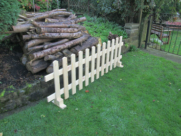 Freestanding Timber Picket Fence Panels 6ftx2ft Planed Smooth Finish X 10 Panels BEST PRICE! FREE DELIVERY!