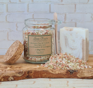 Bentonite Clay Bath Salts and Turkish Coffee Soap Spa Starter