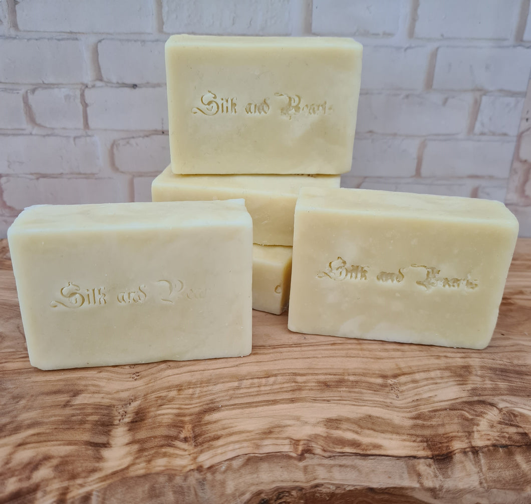 Clearance - Goat Milk, Honey & Clay Pamper Soap - 90g-96g