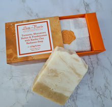 Load image into Gallery viewer, turmeric radiance soap