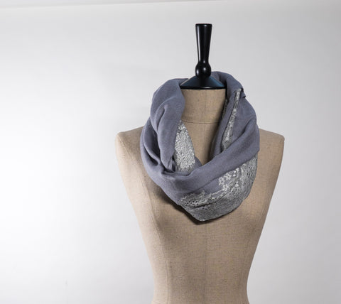 Cashmere & Chantilly Lace Scarves