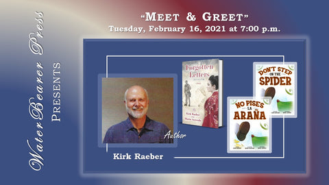 Kirk Raeber author event thumbnail