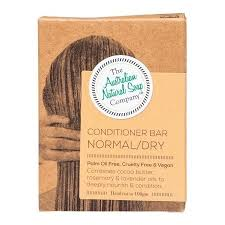 The Australian Natural Soap Company Conditioner Bar - Normal/Dry Hair 100g