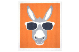 Retro Kitchen 100% Biodegradable Dish Cloth Donkey