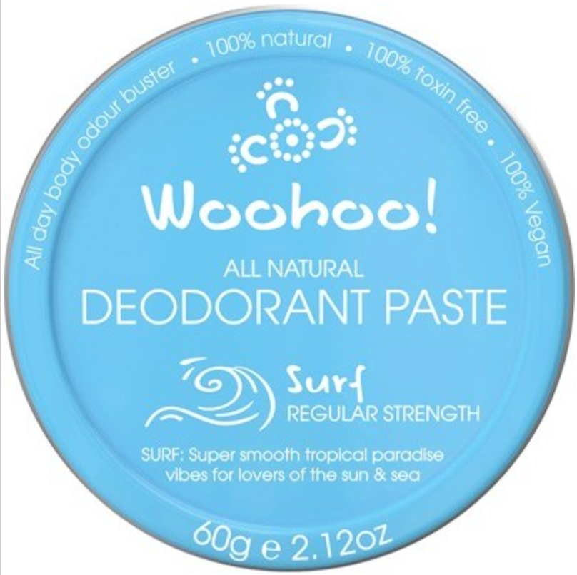 WOOHOO BODY Deodorant Paste (Tin)  Surf 60g