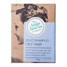 The Australian Natural Soap Company Shampoo Bar - Oily Hair 100g