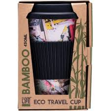 Luvin Life Bamboo Eco Travel Cup - Art 430ml