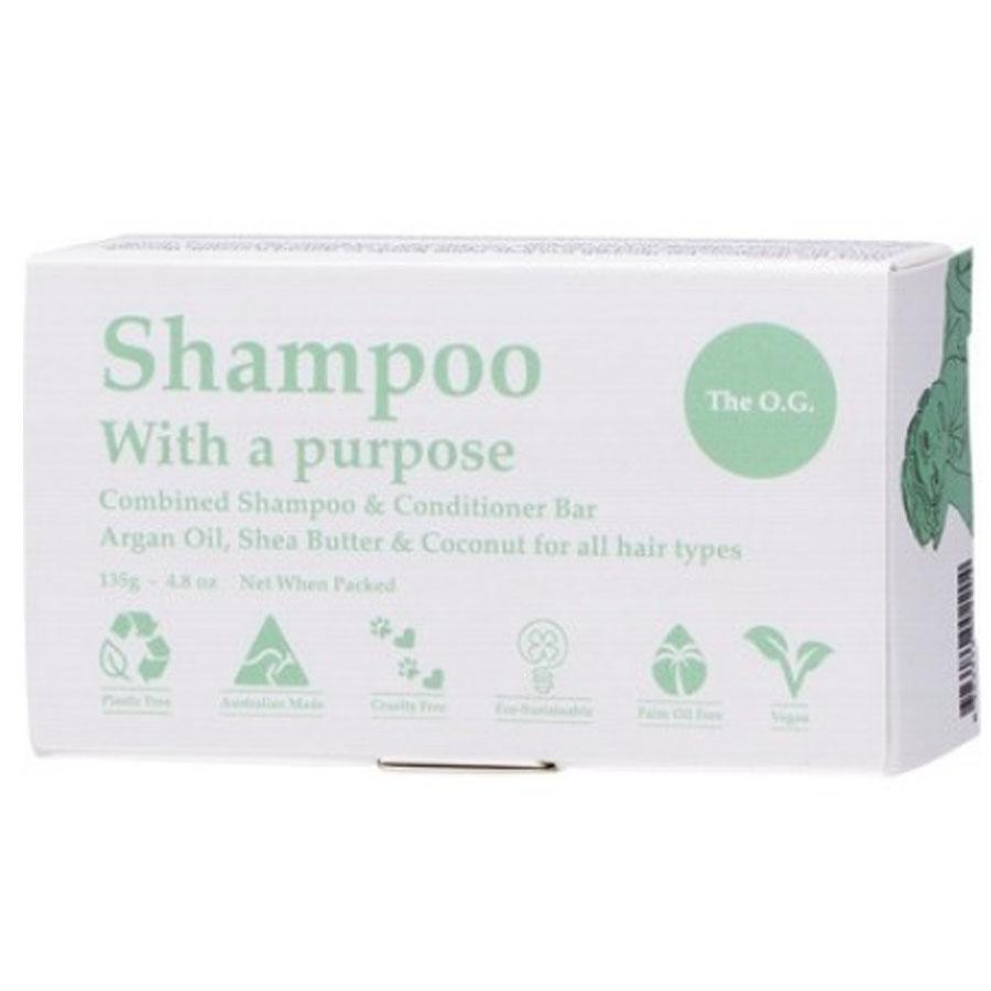 Shampoo With A Purpose - Shampoo & Conditioning Bar. The O.G For All Hair Types