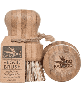 Go Bamboo Veggie Brush 100% Biodegradable