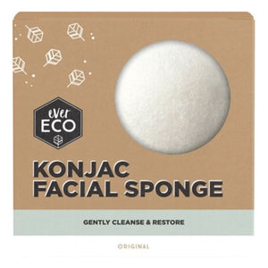 Ever Eco Konjac Facial Sponge - Original