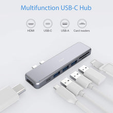 Load image into Gallery viewer, C001 7-in-2  USB C Hub