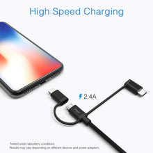 Load image into Gallery viewer, 3-in-1 Charging Cable