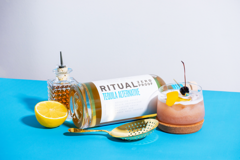 Ritual Zero Proof Non Alcoholic Tequila Alternative Reduced Alcohol Tequila