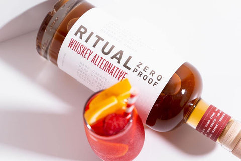 Ritual Zero Proof Whiskey Alternative Non-alcoholic Whiskey Alcohol Free Whiskey Spirit