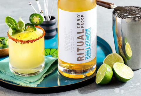 Ritual Zero Proof Tequila Alternative Non-alcoholic Tequila Alcohol Free Tequila Spirit