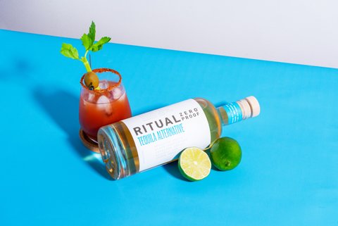 Ritual Zero Proof Tequila Non Alcoholic Tequila Alternative