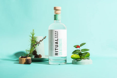 Ritual Zero Proof Non-alcoholic Gin Alternative alcohol-free