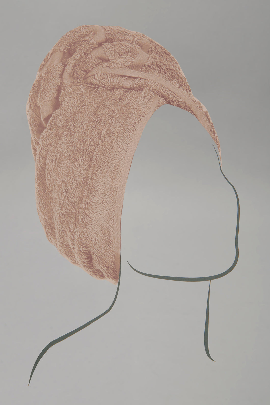 Taupe Hair Wrap