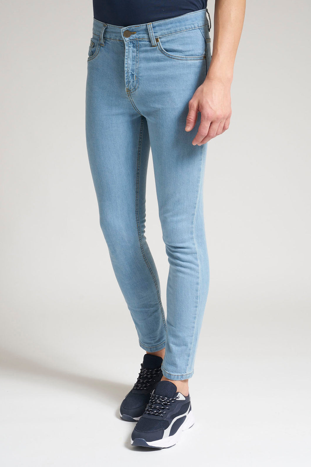 Light Blue Skinny Fit Stretch Jean