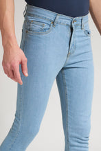 Load image into Gallery viewer, Light Blue Skinny Fit Stretch Jean