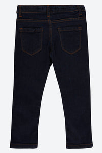 Navy Slim Fit Five Pocket Jean