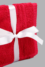 Load image into Gallery viewer, Fuchsia Face Towel Set (4 Piece)