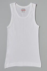 White Plain Vests (3-Pack)