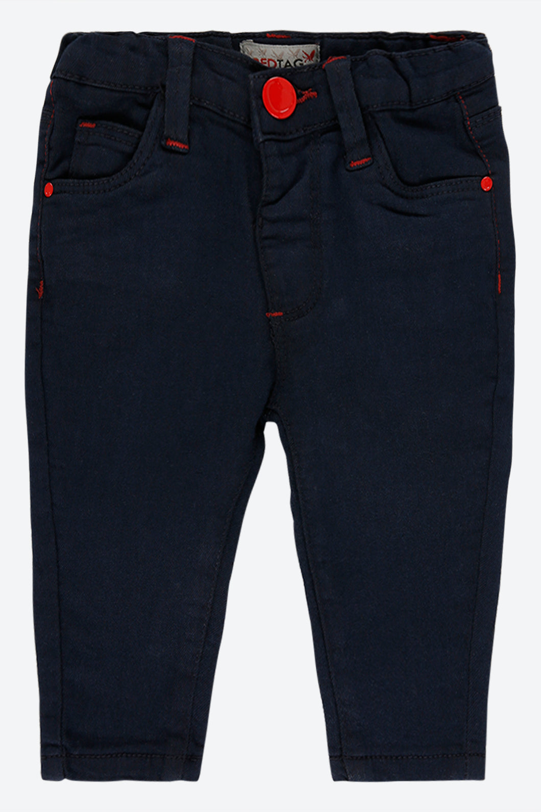 Dark Wash Five Pocket Jean
