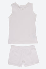 Load image into Gallery viewer, White 2Pk Cami Set