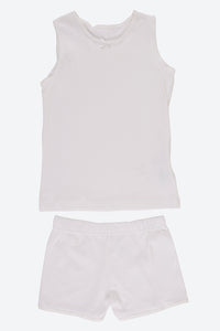 White 2Pk Cami Set