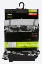 Load image into Gallery viewer, Print/Plain Jersey Hipster Trunks (2-Pack)