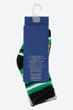 Load image into Gallery viewer, Assorted Jacquard Design Mid-Length Socks (4-Pack)