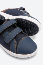 Load image into Gallery viewer, Navy Colour Block Sneakers