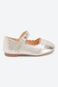 Gold Metallic Ballerina
