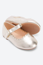 Load image into Gallery viewer, Gold Metallic Ballerina