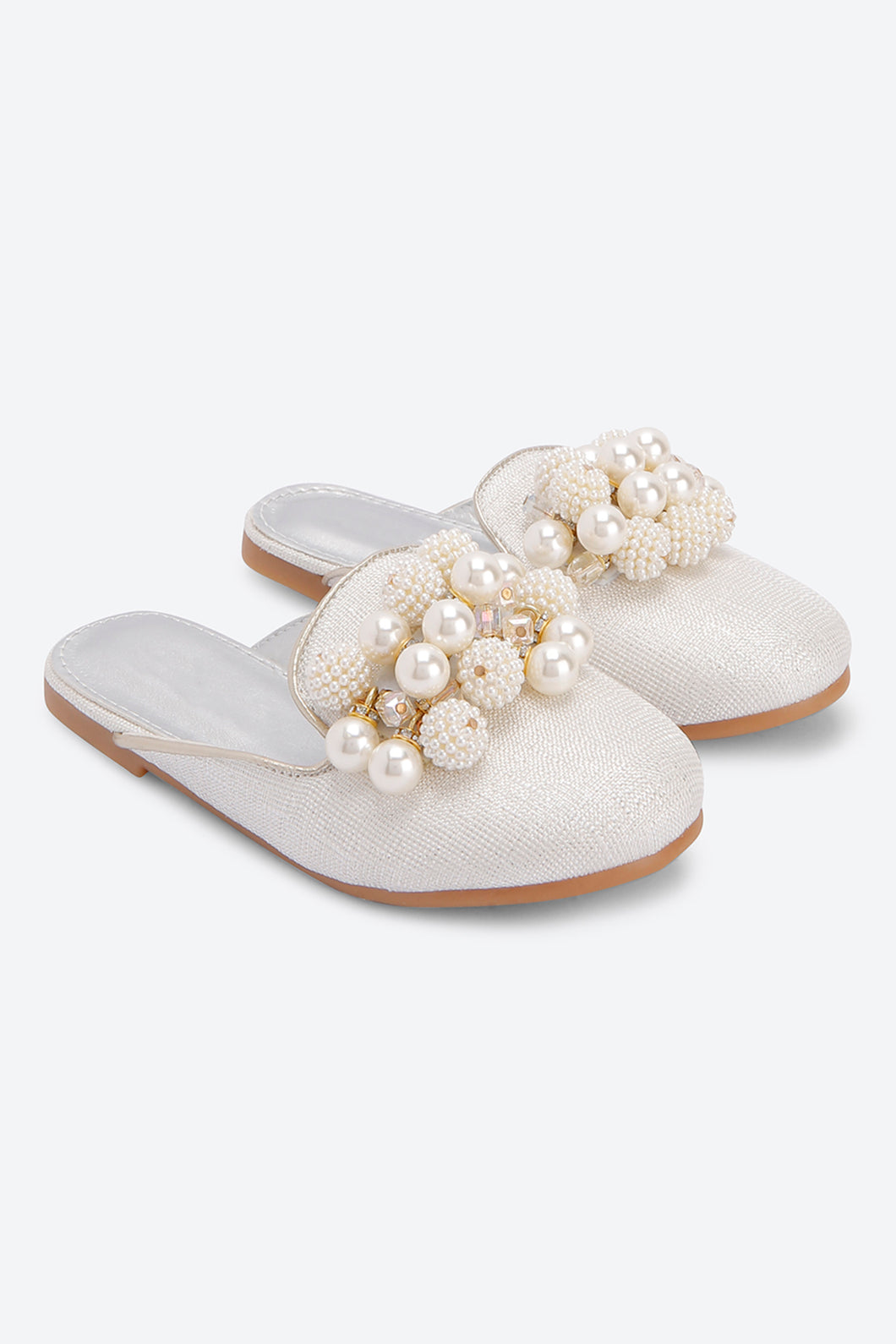 White Jewelled Mule