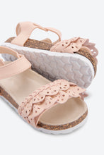 Load image into Gallery viewer, Pink Cork Sole Sandal