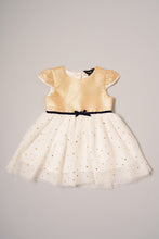 Load image into Gallery viewer, Gold Printed Tutu Party Dress