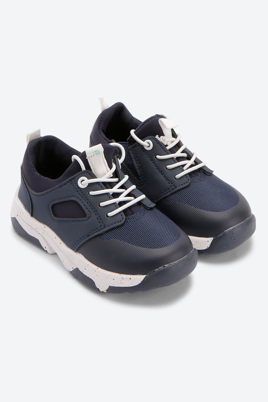 Navy With Elastic Gore Sneaker