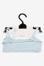 Load image into Gallery viewer, White/Blue 2 Pack Bralette