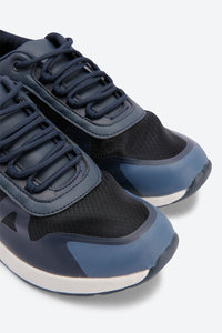 Navy Translucent Chunky Sneakers