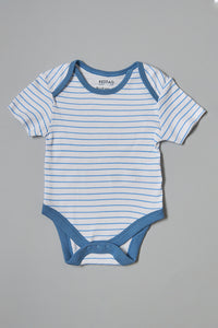 Assorted Base Ball Print Bodysuits (5 Pack)