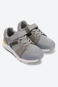 Grey Textured Upper Trainers
