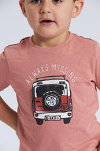 Load image into Gallery viewer, Coral Car Applique T-Shirt and Short Set