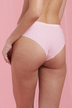 Load image into Gallery viewer, Pale Pink/Dark Pink/Print Seamless Boyleg Brief (3-Pack)