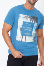 Load image into Gallery viewer, Blue Malibu Graphic Print T-Shirt