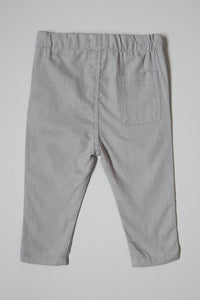 Grey Pull On Trouser